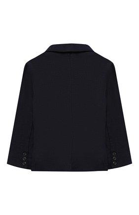 Детский льняной пиджак TARTINE ET CHOCOLAT синего цвета, арт. TQ40041/1M-1A | Фото 2