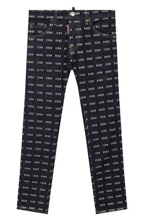 Детские джинсы DSQUARED2 синего цвета, арт. DQ04EL-D00Z1 | Фото 1
