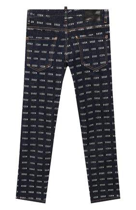 Детские джинсы DSQUARED2 синего цвета, арт. DQ04EL-D00Z1 | Фото 2