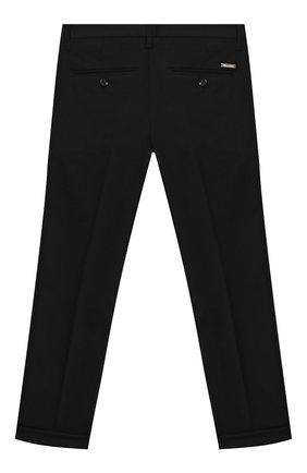 Детские шерстяные брюки DSQUARED2 черного цвета, арт. DQ02E5-D00X9   Фото 2