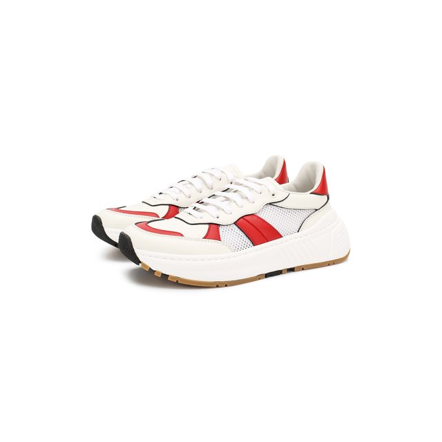 Комбинированные кроссовки Speedster  Bottega Veneta — Комбинированные кроссовки Speedster