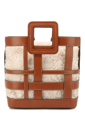 Женская сумка shirley STAUD светло-коричневого цвета, арт. 07-9164 | Фото 1
