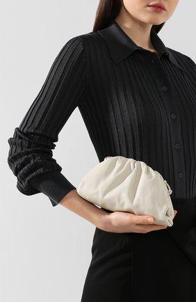 Женский клатч pouch 20 BOTTEGA VENETA белого цвета, арт. 585852/VCP40 | Фото 2