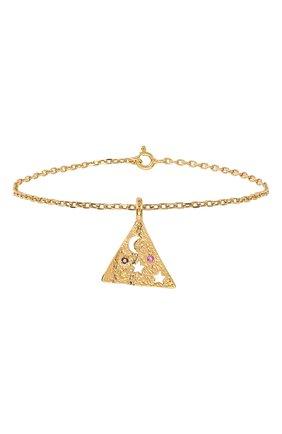 Женская браслет HERMINA ATHENS золотого цвета, арт. MPSB | Фото 1
