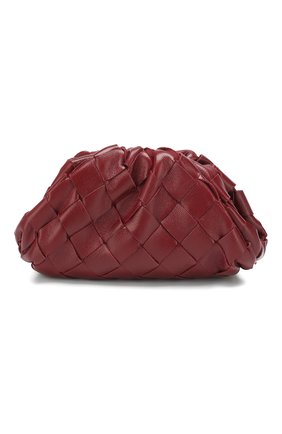Женские кожаный кошелек BOTTEGA VENETA бордового цвета, арт. 577816/VCPP1 | Фото 1