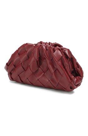 Женские кожаный кошелек BOTTEGA VENETA бордового цвета, арт. 577816/VCPP1 | Фото 2