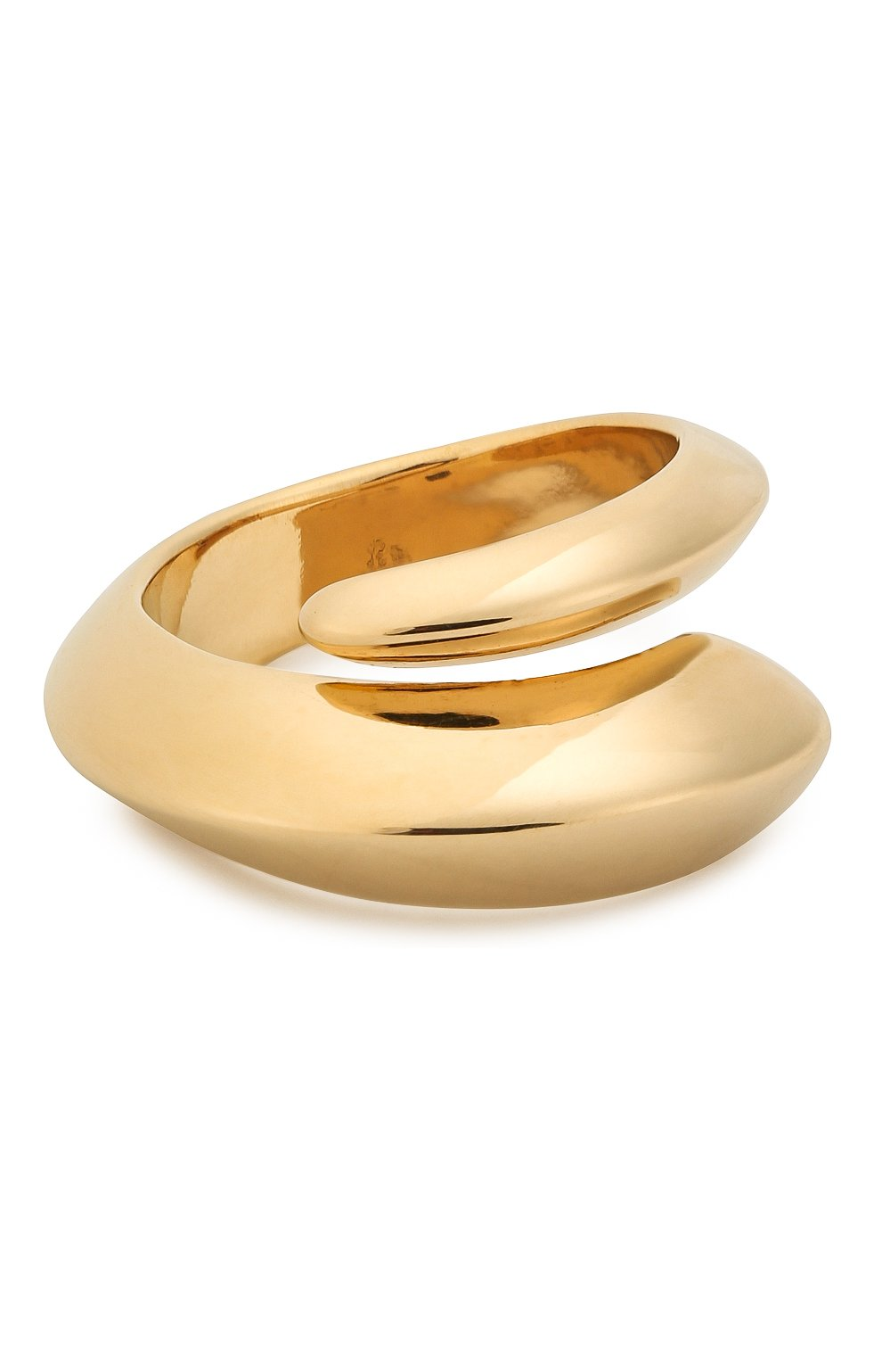 Женское кольцо BOTTEGA VENETA золотого цвета, арт. 608458/VAHU0 | Фото 1