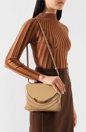 Женская сумка luna WANDLER бежевого цвета, арт. LUNA ARCH BAG | Фото 2