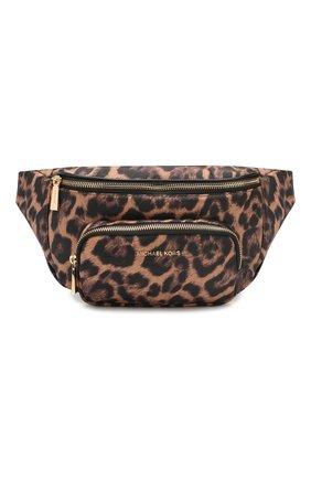 Женская поясная сумка perry MICHAEL MICHAEL KORS леопардового цвета, арт. 30F9GP0N2C | Фото 1
