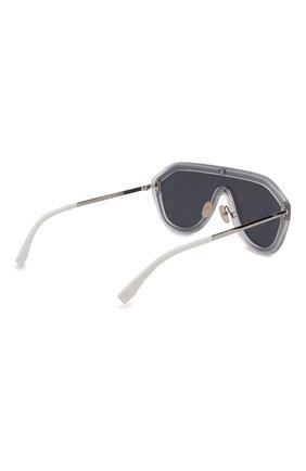 Женские солнцезащитные очки FENDI зеленого цвета, арт. M0039/G F74 | Фото 4