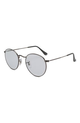 Женские солнцезащитные очки RAY-BAN светло-голубого цвета, арт. 3447-004/T3 | Фото 1
