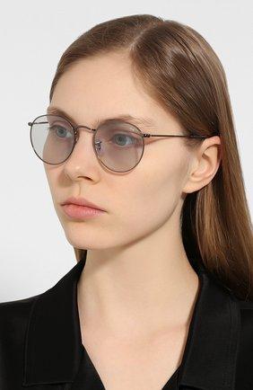 Женские солнцезащитные очки RAY-BAN светло-голубого цвета, арт. 3447-004/T3 | Фото 2