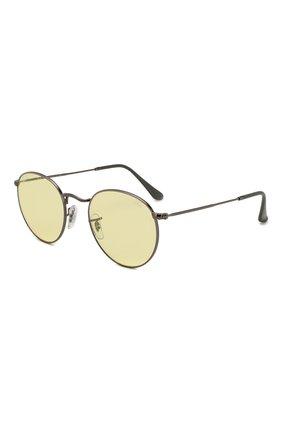 Женские солнцезащитные очки RAY-BAN желтого цвета, арт. 3447-004/T4 | Фото 1