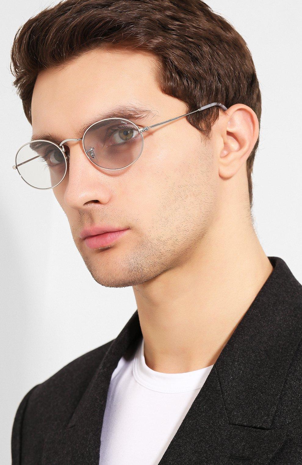 Женские солнцезащитные очки RAY-BAN светло-голубого цвета, арт. 3547-003/T3 | Фото 3