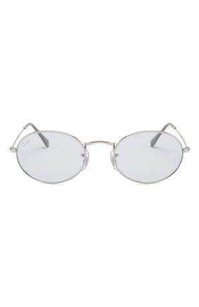 Женские солнцезащитные очки RAY-BAN светло-голубого цвета, арт. 3547-003/T3 | Фото 4