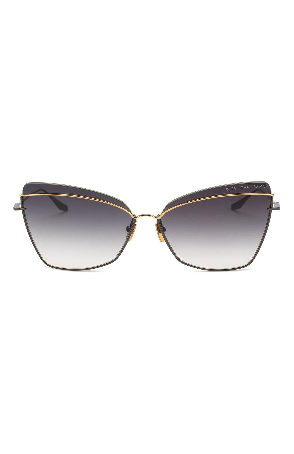 Женские солнцезащитные очки DITA черного цвета, арт. STARSPANN/03 | Фото 3