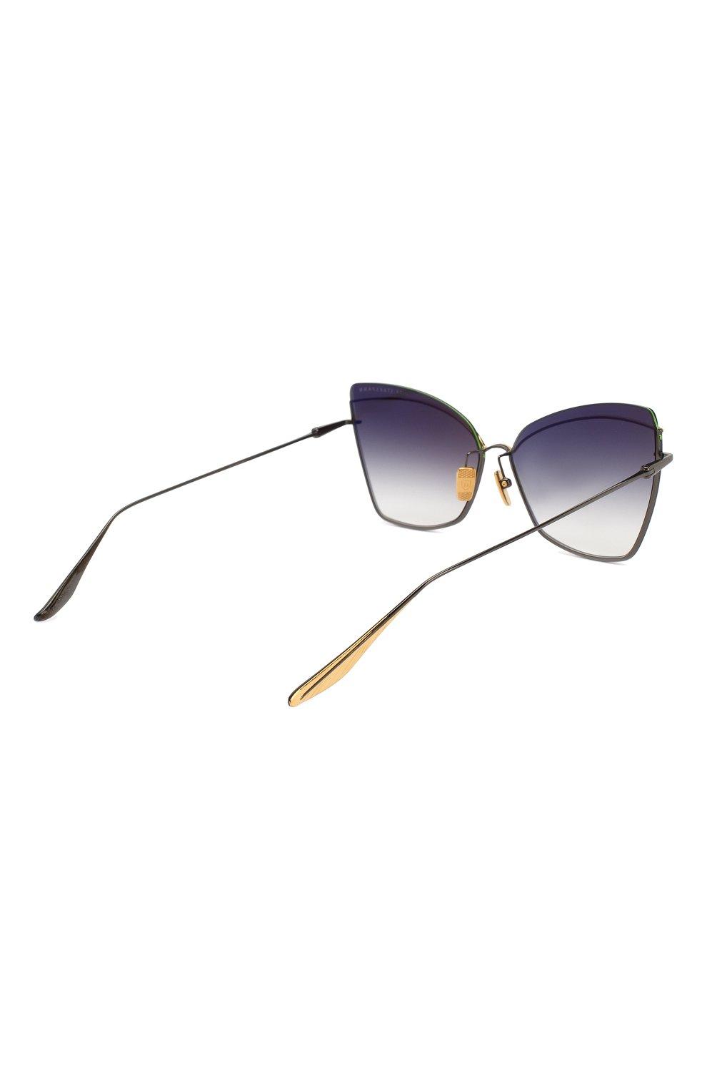 Женские солнцезащитные очки DITA черного цвета, арт. STARSPANN/03 | Фото 4