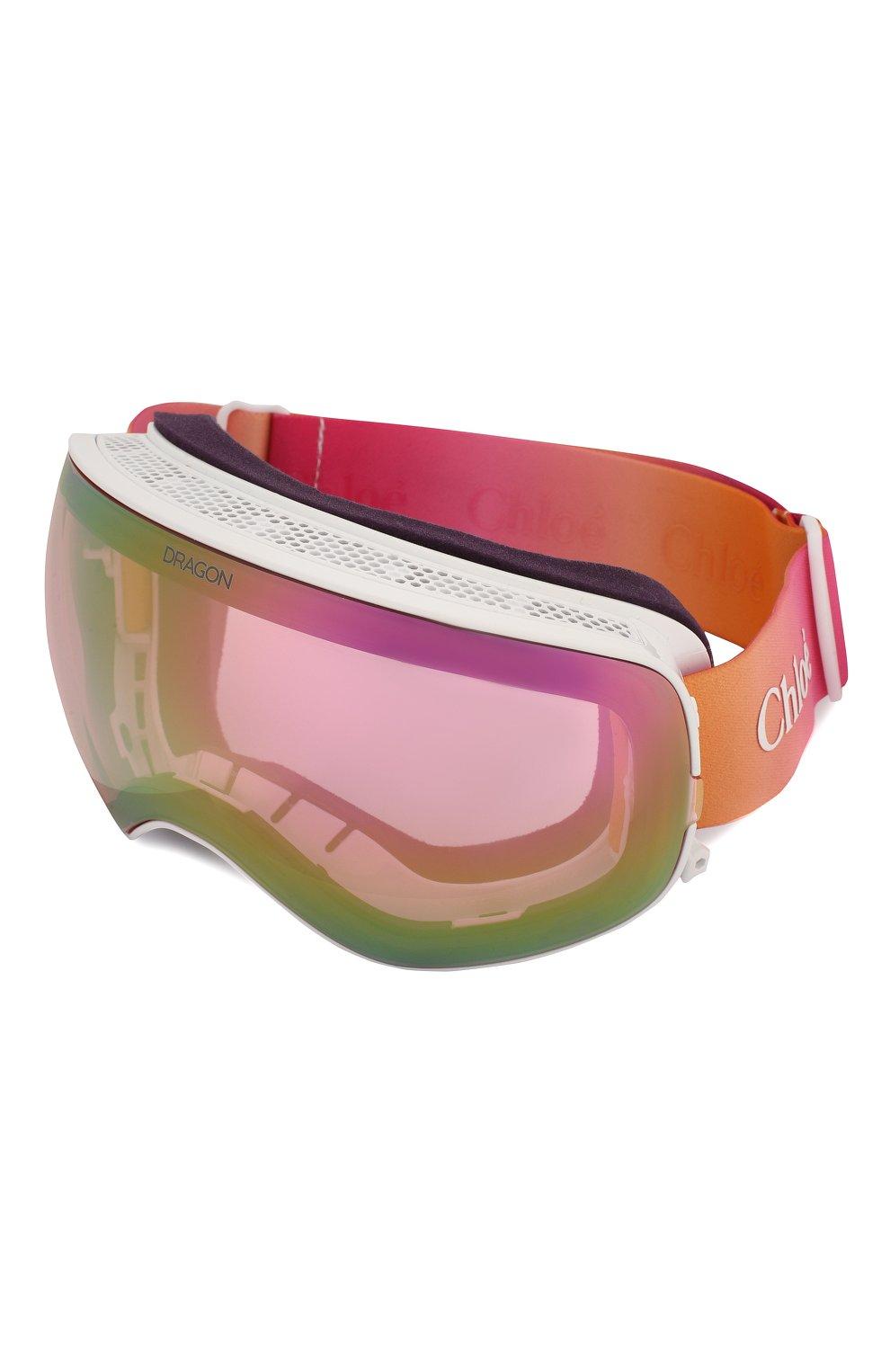 Женские горнолыжная маска CHLOÉ розового цвета, арт. DR X2S CASSIDY-960 | Фото 5