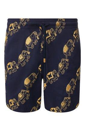 Детского плавки-шорты VILEBREQUIN темно-синего цвета, арт. MSTU0C98 | Фото 1