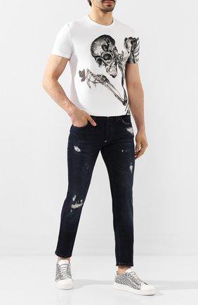 Мужские джинсы PHILIPP PLEIN темно-синего цвета, арт. S20C MDT2018 PDE004N | Фото 2