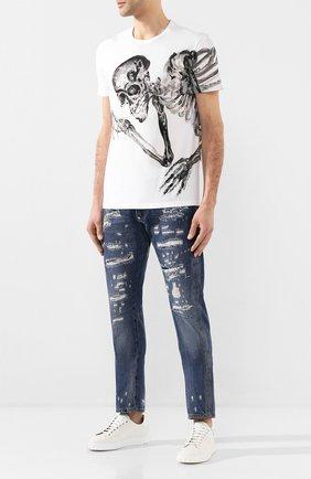 Мужские джинсы PHILIPP PLEIN синего цвета, арт. S20C MDT2020 PDE004N | Фото 2