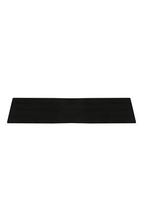 Мужской шелковый камербанд SAINT LAURENT черного цвета, арт. 566730/4Y011 | Фото 1