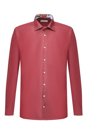 Мужская хлопковая сорочка ETON бордового цвета, арт. 1000 00345 | Фото 1