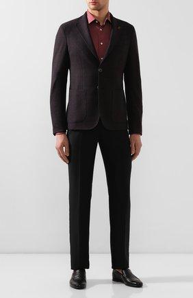 Мужская хлопковая сорочка ETON бордового цвета, арт. 1000 00345 | Фото 2