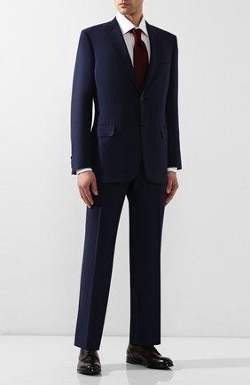 Мужские кожаные дерби ERMENEGILDO ZEGNA коричневого цвета, арт. A4465X-LHNAX | Фото 2
