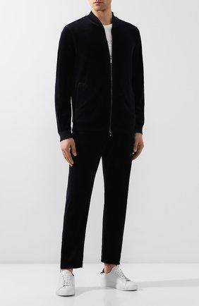 Мужской брюки GIORGIO ARMANI темно-синего цвета, арт. 3HSP86/SJHVZ | Фото 2