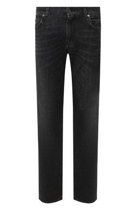Мужские джинсы DOLCE & GABBANA темно-серого цвета, арт. GYQFCD/G8BR4 | Фото 1