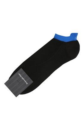 Мужские носки ERMENEGILDO ZEGNA черного цвета, арт. N5V023030 | Фото 1