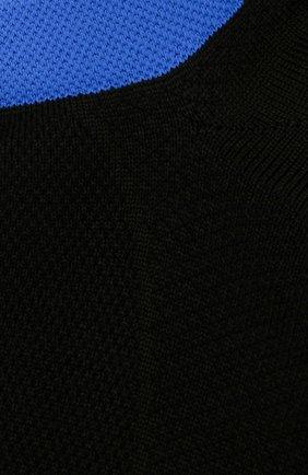 Мужские носки ERMENEGILDO ZEGNA черного цвета, арт. N5V023030 | Фото 2