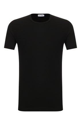 Мужские хлопковая футболка DOLCE & GABBANA черного цвета, арт. M8E02J/FUGIA | Фото 1