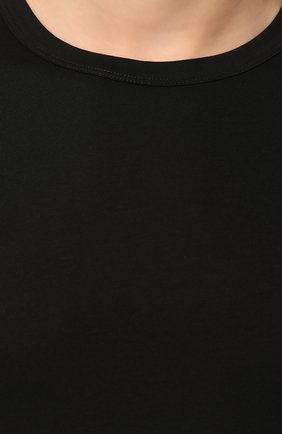 Мужская хлопковая футболка DOLCE & GABBANA черного цвета, арт. M8E02J/FUGIA   Фото 5