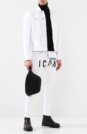 Текстильная поясная сумка Logo Millennials | Фото №2