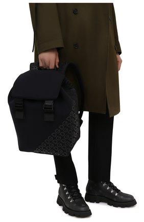 Мужской текстильный рюкзак logo millennials DOLCE & GABBANA черного цвета, арт. BM1809/AJ772 | Фото 2