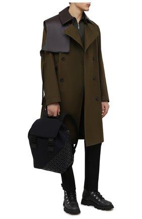 Мужской текстильный рюкзак logo millennials DOLCE & GABBANA черного цвета, арт. BM1809/AJ772 | Фото 3