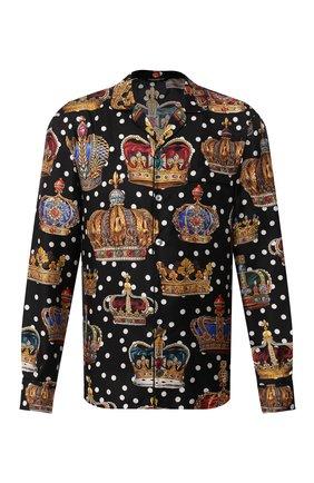 Мужская шелковая сорочка DOLCE & GABBANA разноцветного цвета, арт. G5EM2T/HS196 | Фото 1