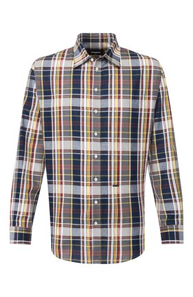 Мужская рубашка из смеси хлопка и льна DSQUARED2 разноцветного цвета, арт. S74DM0328/S52596 | Фото 1