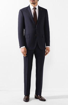 Мужские кожаные лоферы BARRETT темно-коричневого цвета, арт. 191U060.12/C0RSAR0   Фото 2