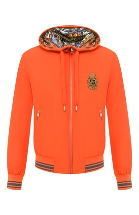 Мужской бомбер DOLCE & GABBANA оранжевого цвета, арт. G90W3Z/G7VDI | Фото 1