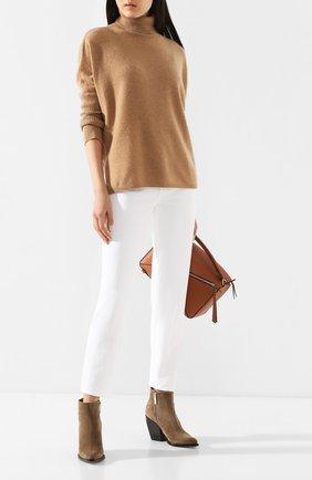 Женская кашемировый свитер NOT SHY бежевого цвета, арт. 3504003C | Фото 2