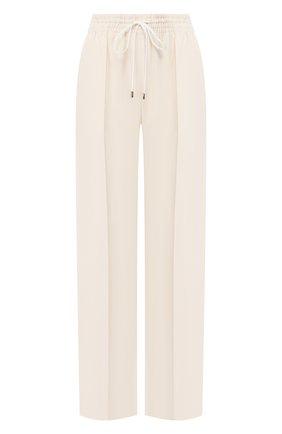 Женские брюки CHLOÉ белого цвета, арт. CHC20SPA85237 | Фото 1