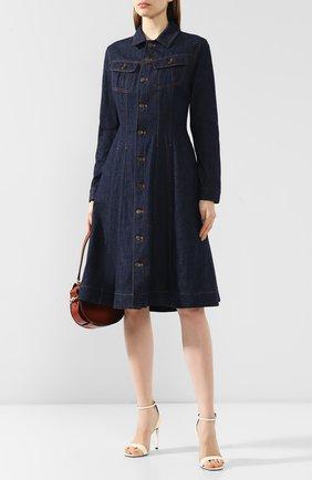 Женское джинсовое платье RALPH LAUREN темно-синего цвета, арт. 290789714 | Фото 2