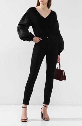 Женские джинсы DOLCE & GABBANA черного цвета, арт. FTAH6D/G899C | Фото 2
