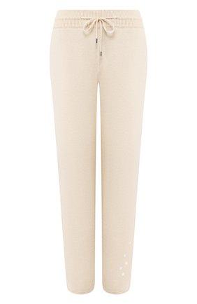 Женские кашемировые брюки LORO PIANA кремвого цвета, арт. FAL0651 | Фото 1