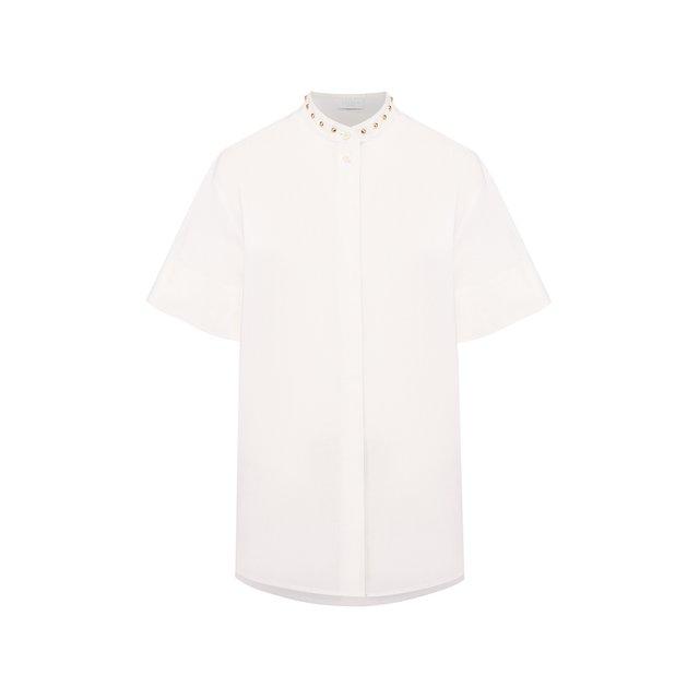 Хлопковая рубашка Escada Sport