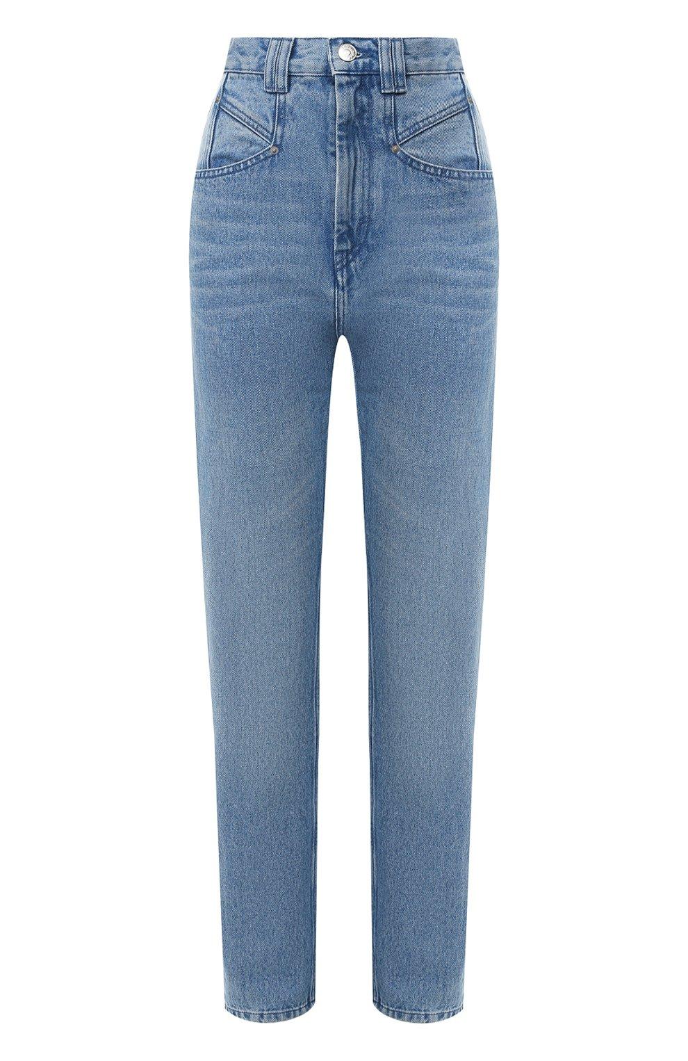 Женские джинсы ISABEL MARANT голубого цвета, арт. PA1461-20P016I/D0MINIC   Фото 1