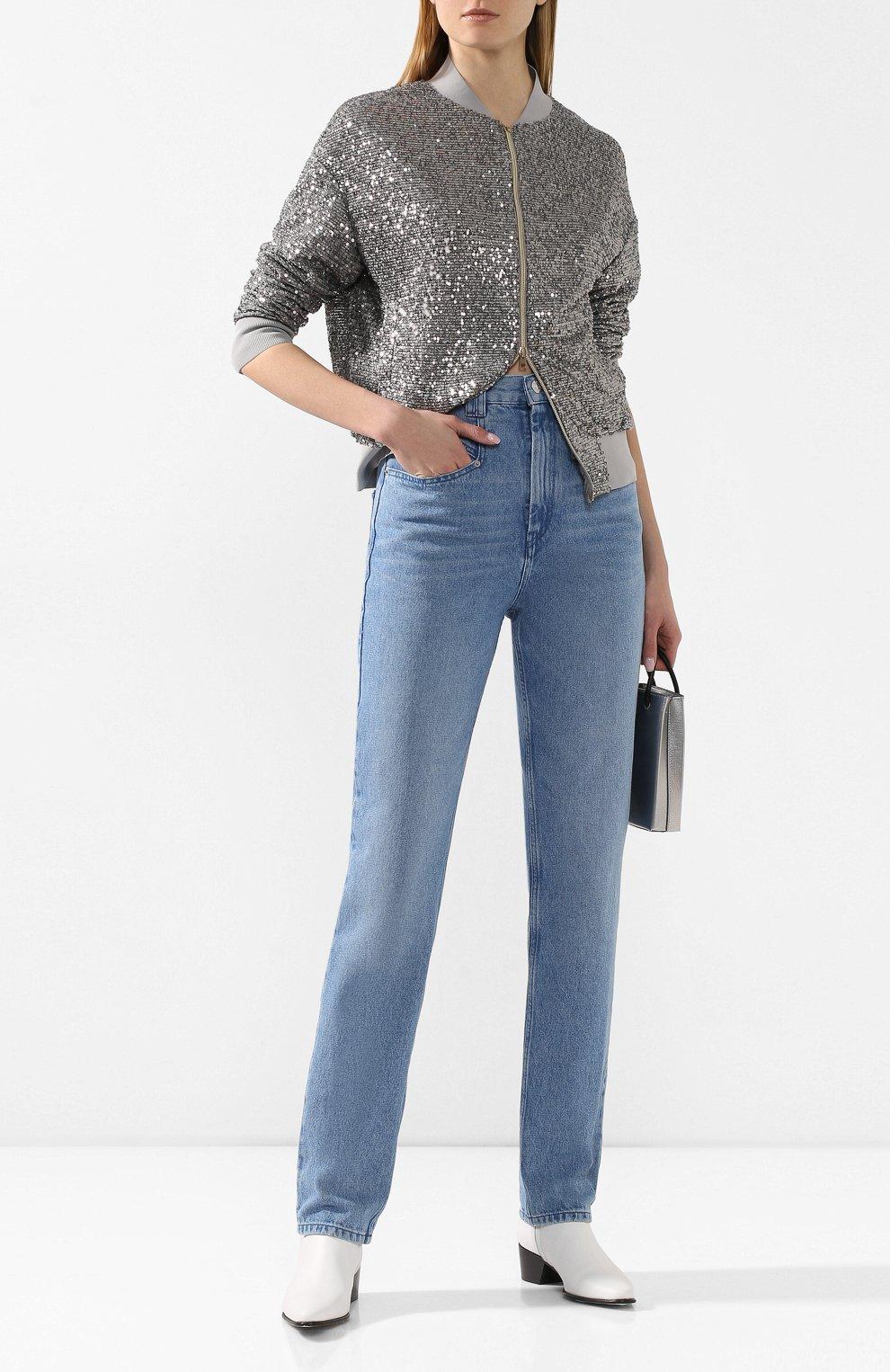 Женские джинсы ISABEL MARANT голубого цвета, арт. PA1461-20P016I/D0MINIC   Фото 2